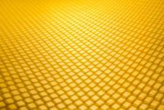 Пустая решетка сота в перспективе Стоковые Изображения RF