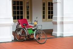 Пустая рикша велосипеда Стоковые Фотографии RF