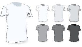 пустая рубашка t иллюстрация вектора
