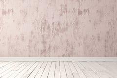 Пустая светлая комната Стоковая Фотография RF