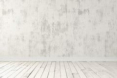 Пустая светлая комната Стоковое Изображение