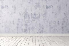 Пустая светлая комната Стоковое фото RF