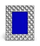 Пустая серебряная рамка фото Стоковые Фотографии RF