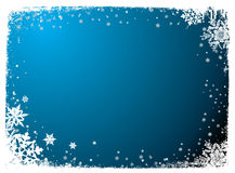 пустая снежинка Стоковое Изображение RF