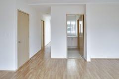 Пустая современная квартира Стоковые Фото