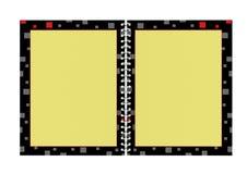 пустая спираль блокнота Стоковая Фотография RF