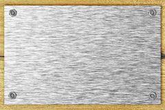 пустая сталь плиты Стоковые Изображения RF