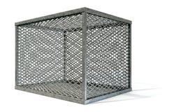 Пустая стальная клетка Стоковое Изображение