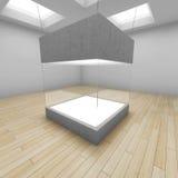 Пустая стеклянная коробка Стоковые Изображения RF