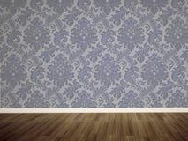 пустая стена комнаты стоковые изображения rf