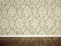 пустая стена комнаты иллюстрация штока