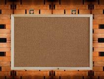 пустая стена пробочки доски деревянная Стоковые Изображения RF