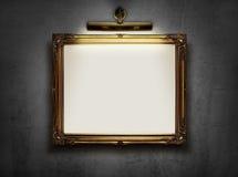 пустая стена рамки Стоковые Фото