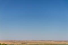 Пустая степь Стоковые Фото