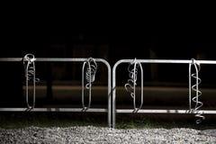 Пустая стоянка автомобилей велосипеда Стоковая Фотография