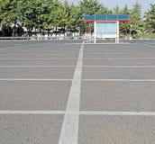 пустая стоянка автомобилей Стоковые Изображения