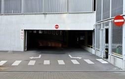 Пустая стоянка автомобилей Стоковое Фото