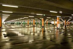 пустая стоянка автомобилей Стоковая Фотография RF