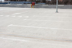 Пустая стоянка автомобилей для автомобилей Стоковое Фото
