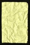 пустая страница тетради Стоковое Изображение
