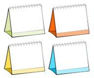 пустая таблица календаров иллюстрация штока