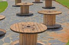 Пустая таблица вьюрка кабеля Стоковые Фото