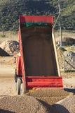 пустая тележка tipper стоковая фотография rf