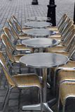 пустая терраса Стоковое Фото