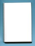 пустая тетрадь Стоковое Изображение