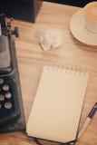 пустая тетрадь Стоковые Фотографии RF