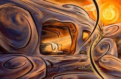 Пустая усыпальница Стоковые Фотографии RF