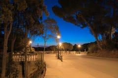 пустая улица Стоковое фото RF