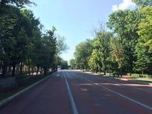 пустая улица Стоковые Изображения RF