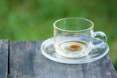 Пустая чашка кофе Стоковое Изображение