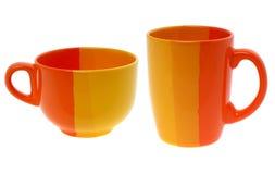 Пустая чашка цвета Стоковые Изображения