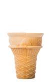 Пустая чашка i конуса мороженого Стоковые Фото