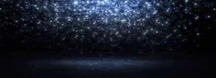 Пустая черная комната студии Темная предпосылка Абстрактная темная пустая текстура комнаты студии стоковое фото rf