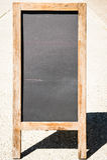 Пустая черная доска Стоковое фото RF