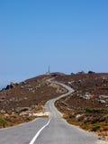 пустая дорога Стоковое Изображение