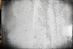 Пустая grained и поцарапанная предпосылка прокладки фильма Стоковое Изображение