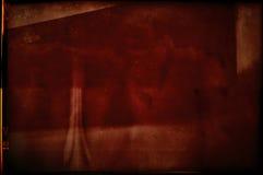 Пустая grained и поцарапанная текстура прокладки фильма Стоковые Изображения