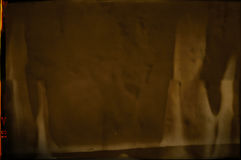 Пустая grained и поцарапанная текстура прокладки фильма Стоковая Фотография