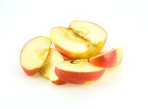 Пустите красное яблоко по трубам Стоковое Изображение RF