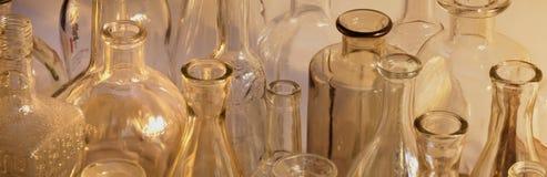 Пустое бутылочное стекло Стоковое Изображение
