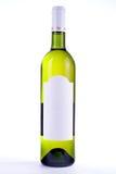 пустое вино ярлыка бутылки Стоковые Изображения