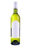 пустое вино ярлыка бутылки Стоковые Изображения RF