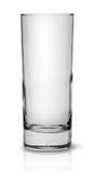 Пустое высокорослое узкое стекло Стоковое фото RF