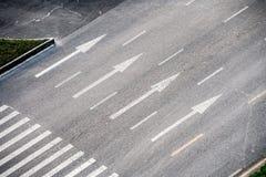 Пустое занятое шоссе стоковое изображение rf