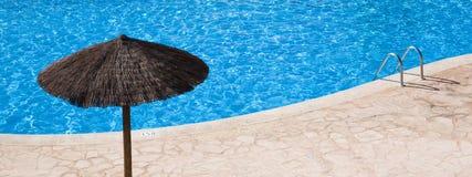 пустое заплывание бассеина Стоковое фото RF