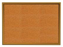 пустое изолированное corkboard Стоковое Фото